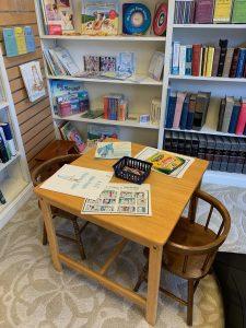 Sunday School Study Area